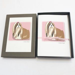 Lhasa Apso Blank Note Cards, set of 6